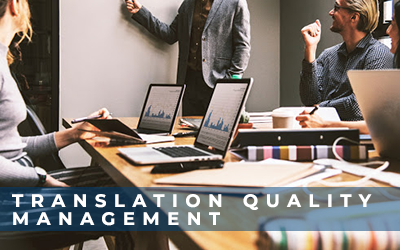 Translation quality management